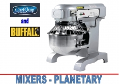 MIXERS (PLANETARY) by VARIOUS - K.F.Bartlett LtdCatering equipment, refrigeration & air-conditioning